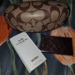 COACH Sunglass Case